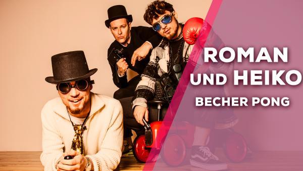 Heiko und Roman Lochmann - Becher Pong | Rechte: KiKA