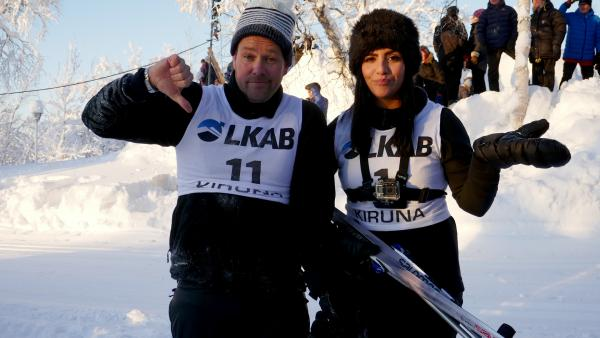 KiKA LIVE - Jess und Ben in Lappland, Tag 1 | Rechte: KiKA
