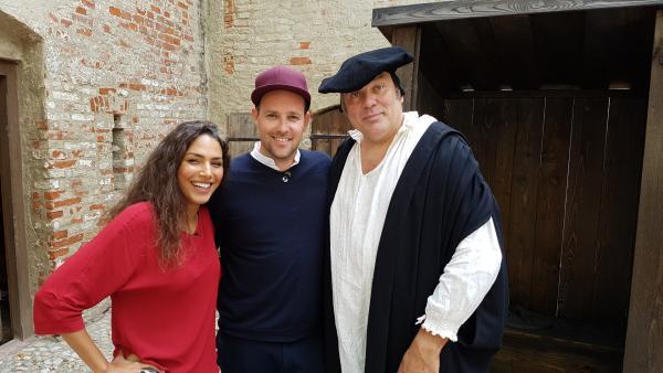 Ben trifft Martin Luther | Rechte: KiKA/ Anna Leistner