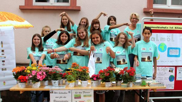 Pausengames Tag 4: Projekt Regenwald, Oberkirch | Rechte: KiKA / Andrea Thoben