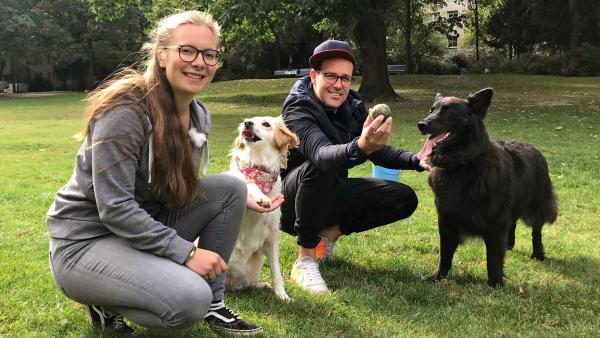 Trickdogging Praxis mit Nala | Rechte: KiKA