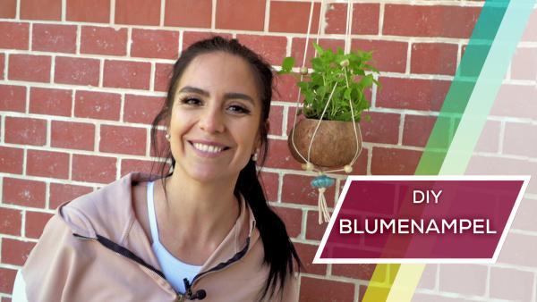 DIY: Makramee-Blumenampel | Rechte: KiKA