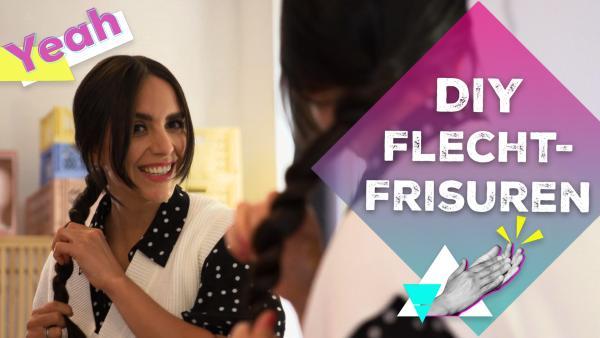 DIY Flechtfrisuren mit Jess | Rechte: KiKA