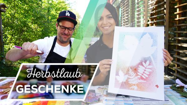 DIY Herbstlaub-Geschenke | Rechte: FranziGruber/KiKA