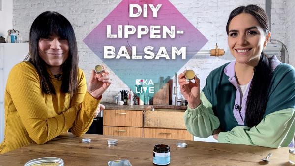 DIY Lippenbalsam | Rechte: KiKA / Stephanie Paersch
