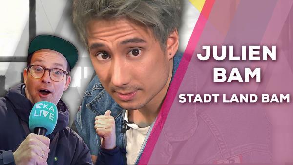 Julien Bam - Stadt Land Bam | Rechte: KiKA