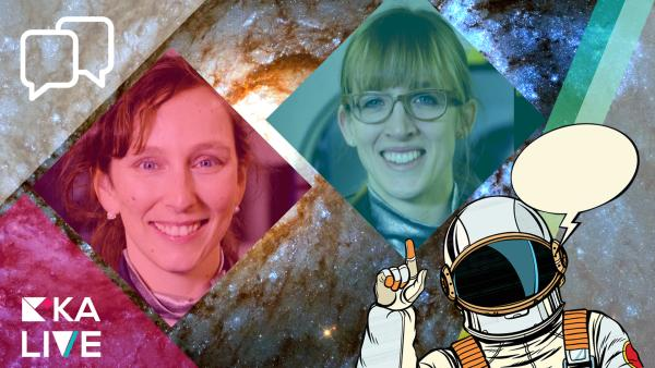 Deine Frage an die Astronautinnen | Rechte: KiKA