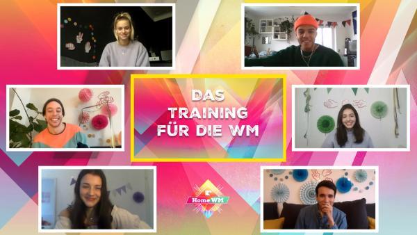 Trainieren für die Home-WM | Rechte: KiKA