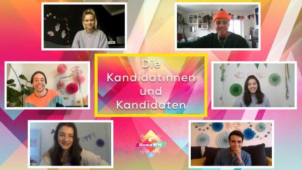 Die Kanditainnen und Kandidaten der Homw-WM | Rechte: KiKA