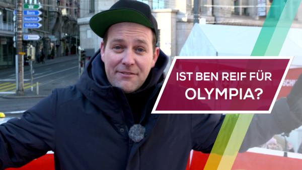 Ist Ben reif für Olympia? | Rechte: KiKA / Rozhyar Zolfaghari
