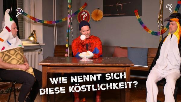 Karneval mit Ben - Wie nennt sich das Gebäck? | Rechte: KiKA