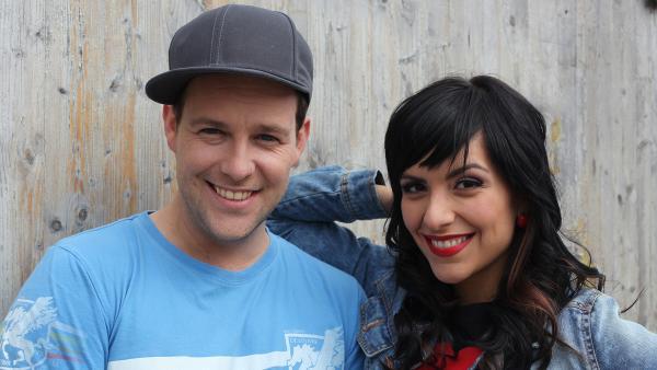 KiKA LIVE-Moderatoren Ben und Jess | Rechte: Jenny Sieboldt/KiKA