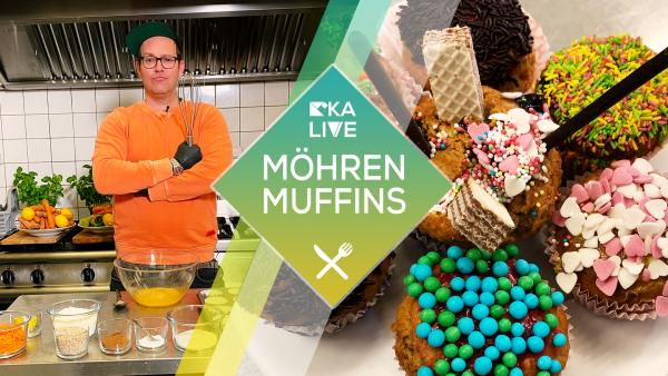Ben backt leckere Möhrenmuffins | Rechte: KiKA