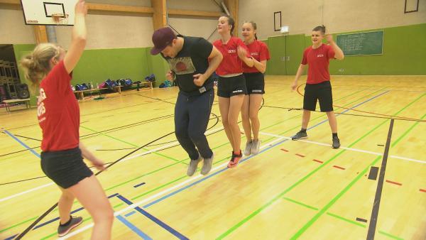 Rope Skipping | Rechte: KiKA/Stephanie Paersch