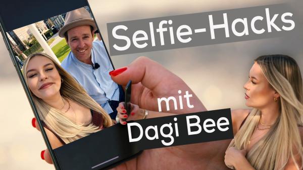 Selfie-Hacks mit Dagi Bee | Rechte: KiKA