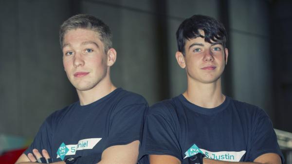 Team Daniel und Justin | Rechte: KiKA/Ron Bergmann