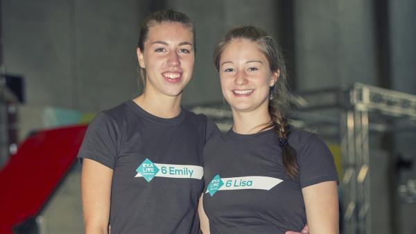 Team Emily und Lisa | Rechte: KiKA/Ron Bergmann