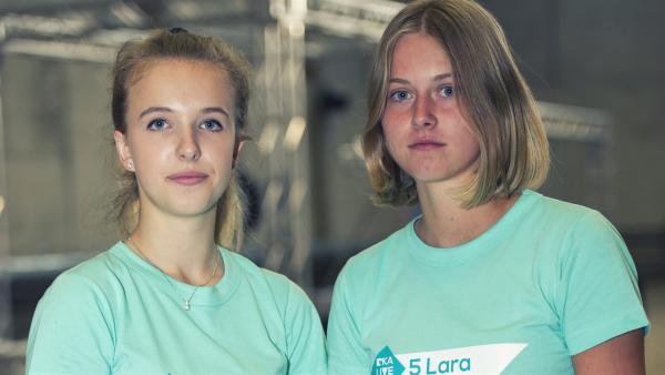 Team Gina und Lara | Rechte: KiKA/Ron Bergmann
