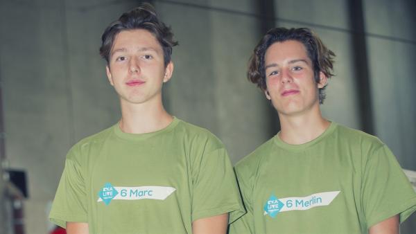 Team Marc und Merlin | Rechte: KiKA/Ron Bergmann