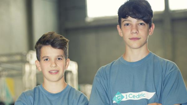 Team Markus und Cedric | Rechte: KiKA/Ron Bergmann