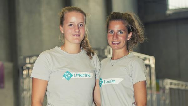 Team Martha und Louisa | Rechte: KiKA/Ron Bergmann