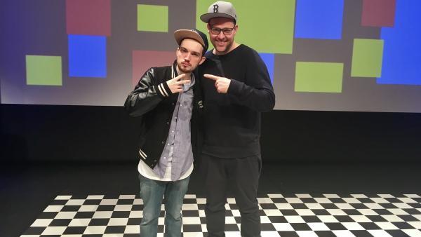 Ben trifft den Rapper Fargo! | Rechte: KiKA/Sakina Gaba