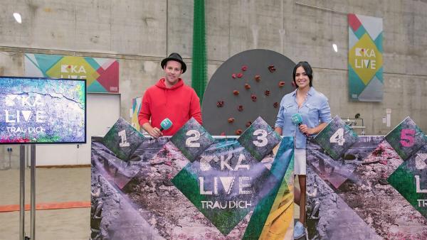 KiKA LIVE Trau dich! 2018 mit Ben und Jess | Rechte: KiKA/Ron Bergmann