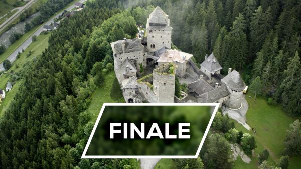 Tag der großen Entscheidung auf Burg Finstergrün. Drei Teams sind noch im Rennen und stellen sich heute den letzten beiden großen Herausforderungen.  | Rechte: KiKA/Ron Bergmann