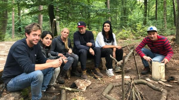 KiKA LIVE Allstars im Survival Camp, Tag 2 | Rechte: KiKA