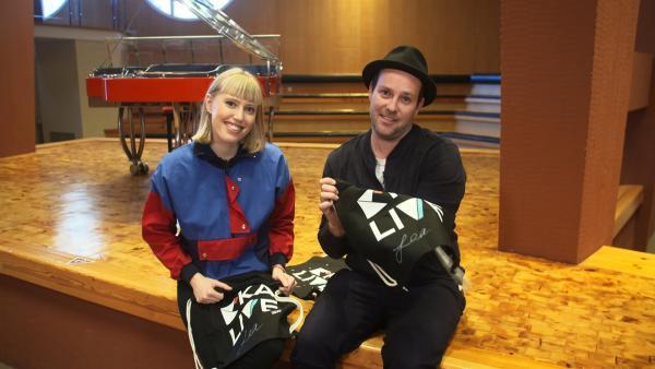 Ben trifft die Musikerin LEA | Rechte: KiKA/Andrea Thoben