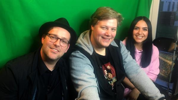 Jess und Ben treffen einen absoluten Profi der deutschen Let´s Play-Szene: Br4mm3n von PietSmiet. | Rechte: KiKA/Eva Knäusl