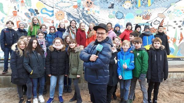 Ben besucht die Arnold-Zweig-Grundschule Pankow. | Rechte: KiKA/Grit Häfer