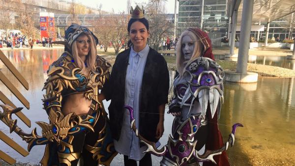 Jess begleitet Sarah und ihre Freundin zur Manga-Comic-Con nach Leipzig. | Rechte: KiKA