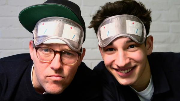 Ben und Noah Levi | Rechte: KiKA/Alex Huth