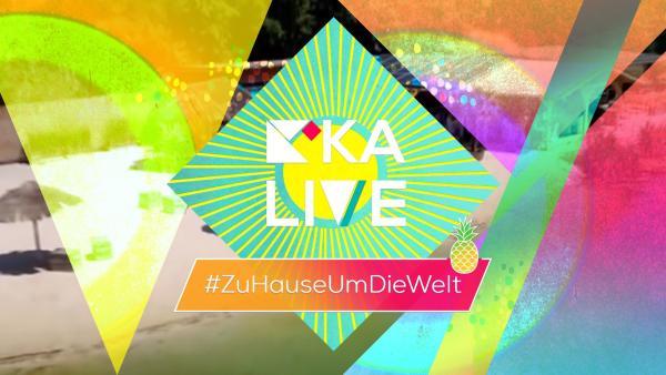 "Das Sommerspezial 2020 ""KiKA LIVE #ZuHauseUmDieWelt"" | Rechte: KiKA"