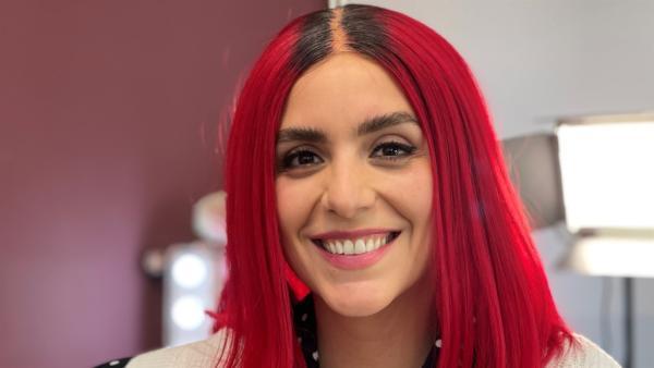 Jess mit einem neuen Hairstyle | Rechte: KiKA