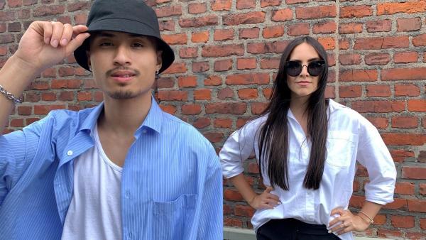 Jess trifft den Mode-Influencer Philipp Dao alias bhpdao | Rechte: KiKA/Torben Hagenau