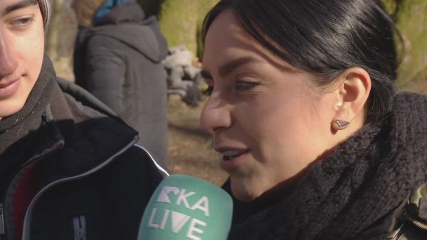 Jess beim Jugendfilmprojekt in Uelzen | Rechte: KiKA