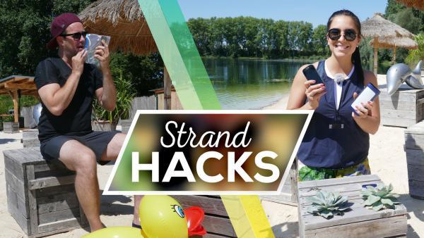 Strandhacks | Rechte: KiKA/Stefanie Jung