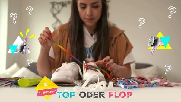 Top oder Flop - Sneakers individuell upgraden | Rechte: KiKA