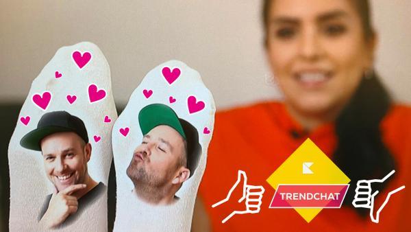 Top oder Flop: Kurze Sneaker-Söckchen mit Motiven | Rechte: KiKA