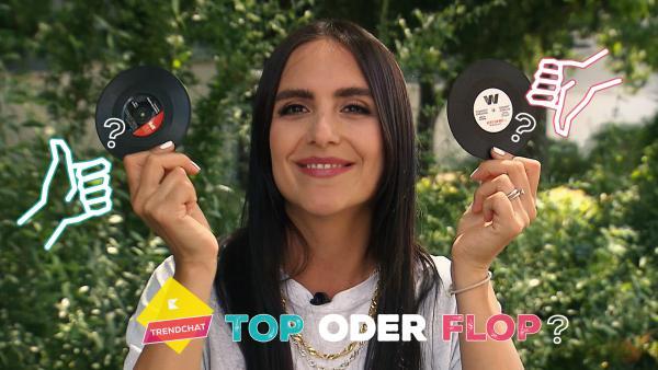 Top oder Flop: Schallplatten als Deko | Rechte: KiKA
