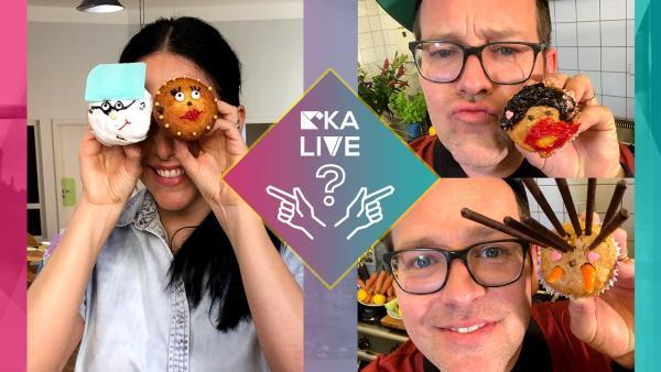 Jess vs. Ben - Muffins verzieren | Rechte: KiKA