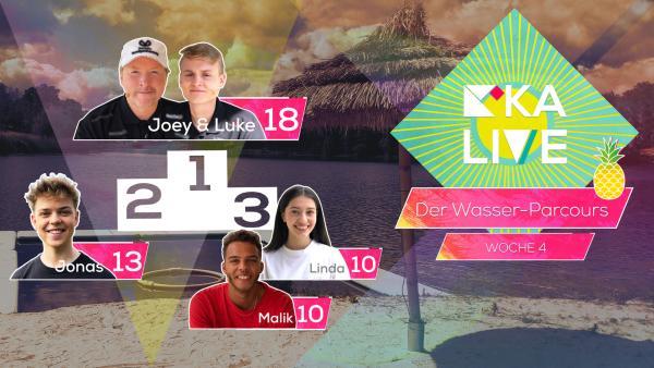 Highscore KiKA LIVE Wasser-Parcours Folge 11 | Rechte: KiKA
