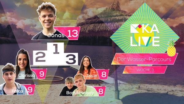 Highscore KiKA LIVE Wasser-Parcours Folge 7 | Rechte: KiKA
