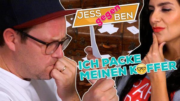 Jess gegen Ben - Ich packe meinen Koffer | Rechte: KiKA / Franziska Gruber