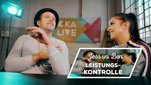 Endlich-Freitag-Video: Jess vs. Ben: Leistungskontrolle | Rechte: KiKA