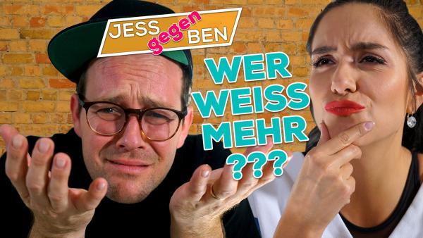 Jess gegen Ben - Wer weiß mehr? | Rechte: KiKA / Franziska Gruber
