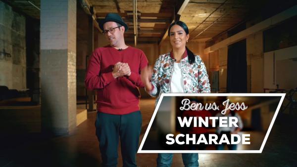 Endlich-Freitag-Video: Ben vs. Jess: Winterscharade | Rechte: KiKA/SabineKrätzschmar