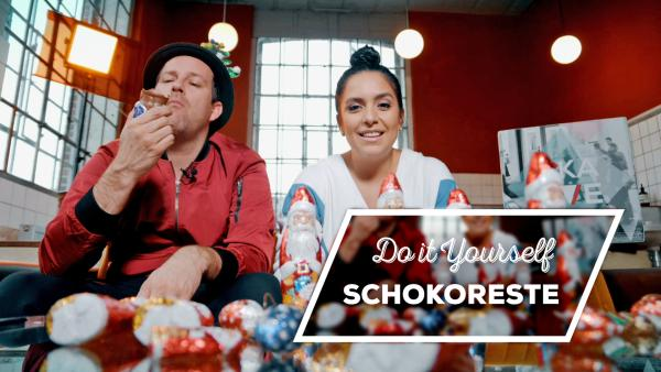 Endlich-Freitag-Video: DIY Schokoreste | Rechte: KiKA